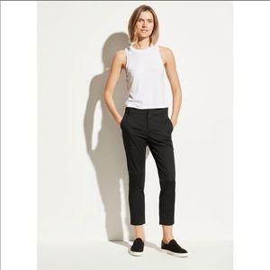 Vince black slim chino pants size 28